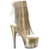 Kulta 18 cm ADORE-1017RSFT naisten hapsuilla nilkkurit korkeat korko