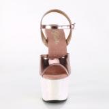 Kulta 18 cm ADORE-709LG Glitter platform korkeakorkoiset sandaalit