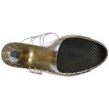 Kulta 20 cm STARDUST-808T Platform Korkeakorkoiset Sandaalit
