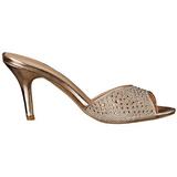 Kulta 8,5 cm LUCY-01 kimallus matalat puukengät naisten