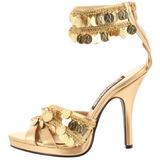 Kulta 9,5 cm GYPSY-03 Naisten Sandaletit Korkea