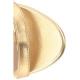 Kulta Keinonahka 10 cm DREAM-438 suuret koot nilkkurit naisten