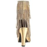 Kulta Keinonahka 10 cm QUEEN-100 suuret koot nilkkurit naisten