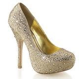 Kulta Kimaltelevia Kiviä 13,5 cm FELICITY-20 naisten kengät korkeat korko