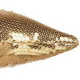 Kulta Paljetit 9,5 cm FUNTASMA LUST-2001SQ Naisten Saappaat