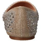 Kulta TREAT-06 kristalli kivi ballerina kengät naisten matalat