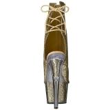 Kulta kimallus 18 cm ADORE-1018G korokepohja nilkkurit korkeat korko