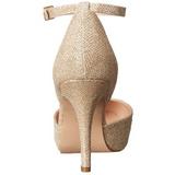 Kultaiset Kristalli 9 cm COVET-03 klassiset avokkaat kengät naisten