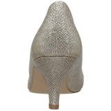 Kultaiset Kristalli Kivi 6,5 cm DORIS-06 Korkeat Avokkaat Juhlakenkiä