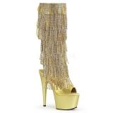 Kultaiset Strass 18 cm ADORE-2024RSF naisten hapsuilla saappaat korko