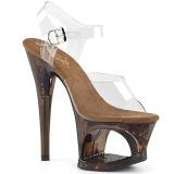 Kupari 18 cm MOON-708GFT kimallus platform sandaalit naisten