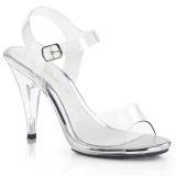 Läpinäkyvä 10,5 cm CARESS-408 Naisten Sandaletit Korkea