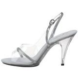 Läpinäkyvä 10,5 cm CARESS-456 Naisten Sandaletit Korkea