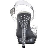 Läpinäkyvä 13 cm LIP-108RS bikini kuntosali kengät - bikini fitness kisakengät ja kengät