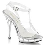 Läpinäkyvä 13 cm LIP-118 naisten kengät korkeat korko