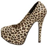 Leopardi 14,5 cm Burlesque TEEZE-35 naisten kengät korkeat korko