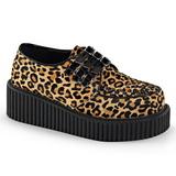 Leopardi 5 cm CREEPER-112 creepers kengät naisten platform paksut pohjat