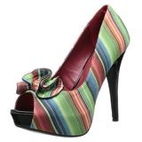 Monivärinen 13 cm LOLITA-12 naisten avokärkiset avokkaat kengät