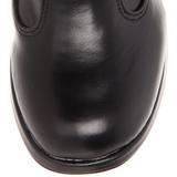 Musta 10 cm CRYPTO-106 lolita saappaat gootti platform paksut pohjat