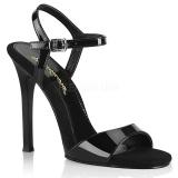 Musta 11,5 cm GALA-09 fabulicious piikkikorko sandaalit