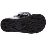 Musta 11 cm CONCORD-108 lolita saappaat gootti platform paksut pohjat