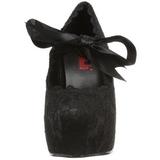Musta 13 cm DEMON-11 lolita gootti kengät
