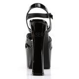 Musta 16,5 cm CANDY-40 naisten kengät korkeat korko