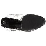 Musta 18 cm Pleaser ADORE-708LS Korkosandaalit