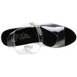 Musta 18 cm TIPJAR-708-5 strippari kengät tankotanssi sandaletit