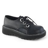 Musta 3 cm DEMONIA LILITH-99 gootti platform kengät