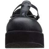 Musta 6 cm SPRITE-03 lolita gootti kengät