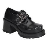 Musta 7 cm TRUMP-101 lolita kengät gootti platform kengät paksut pohjat
