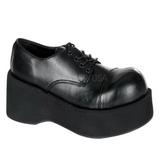 Musta 8,5 cm DANK-101 lolita kengät gootti platform kengät paksut pohjat