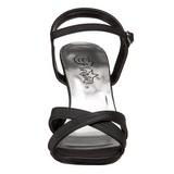 Musta 8,5 cm ROMANCE-313 Naisten Sandaletit Korkea
