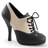 Musta Beige 11,5 cm CUTIEPIE-14 Oxford Pumps Naisten Kengät