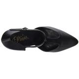Musta Keinonahka 10,5 cm VANITY-415 Pumps Naisten Kengät