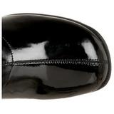 Musta Kiiltonahka 5 cm RETRO-300 Naisten Korkosaappaat