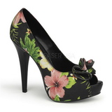 Musta Kukkia 13 cm LOLITA-11 naisten kengät korkeat korko