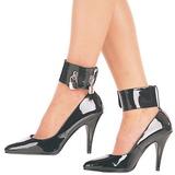 Musta Lakatut 10,5 cm VANITY-434 Naisten kengät avokkaat