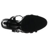Musta Lakatut 12 cm FLAIR-420 Korkokengät Miesten