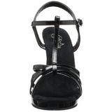 Musta Lakatut 12 cm FLAIR-420 Naisten Sandaletit Korkea