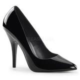 Musta Lakatut 13 cm SEDUCE-420 Pumps Naisten Kengät