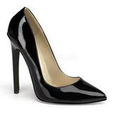 Musta Lakatut 13 cm SEXY-20 Pumps Naisten Kengät