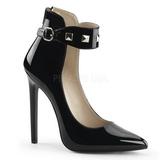 Musta Lakatut 13 cm SEXY-31 klassiset avokkaat kengät naisten