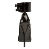Musta Lakatut 15,5 cm DOMINA-434 Pumps Naisten Avokkaat Kengät