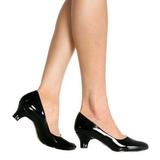 Musta Lakatut 5 cm FAB-420W Naisten kengät avokkaat