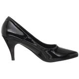 Musta Lakatut 7,5 cm PUMP-420 klassiset avokkaat kengät naisten