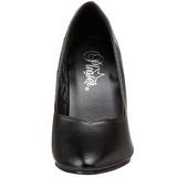 Musta Matta 10 cm DREAM-420 naisten avokkaat korkokengät