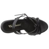 Musta Matta 12 cm FLAIR-420 Naisten Sandaletit Korkea
