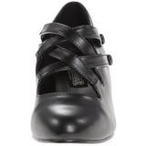 Musta Matta 5 cm DAME-02 Pumps Naisten Kengät